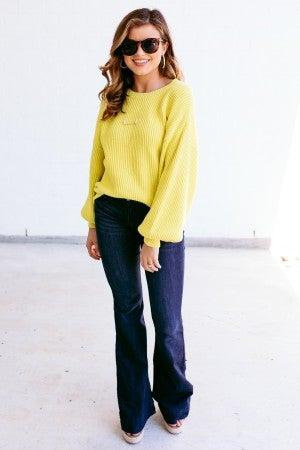 Tread Brightly Sweater