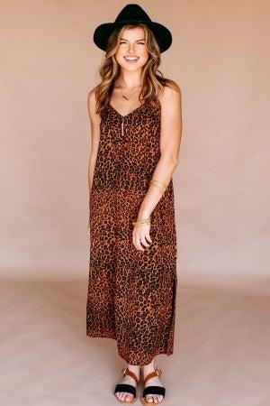 Slip into the Wild Dress