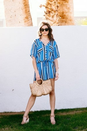 Along These Lines Romper