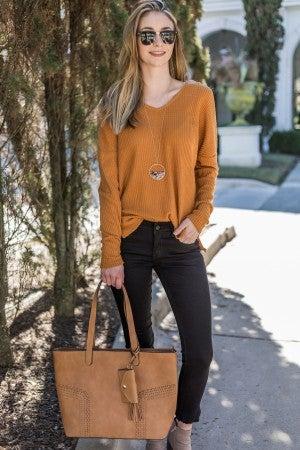 A Fresh Start Sweater
