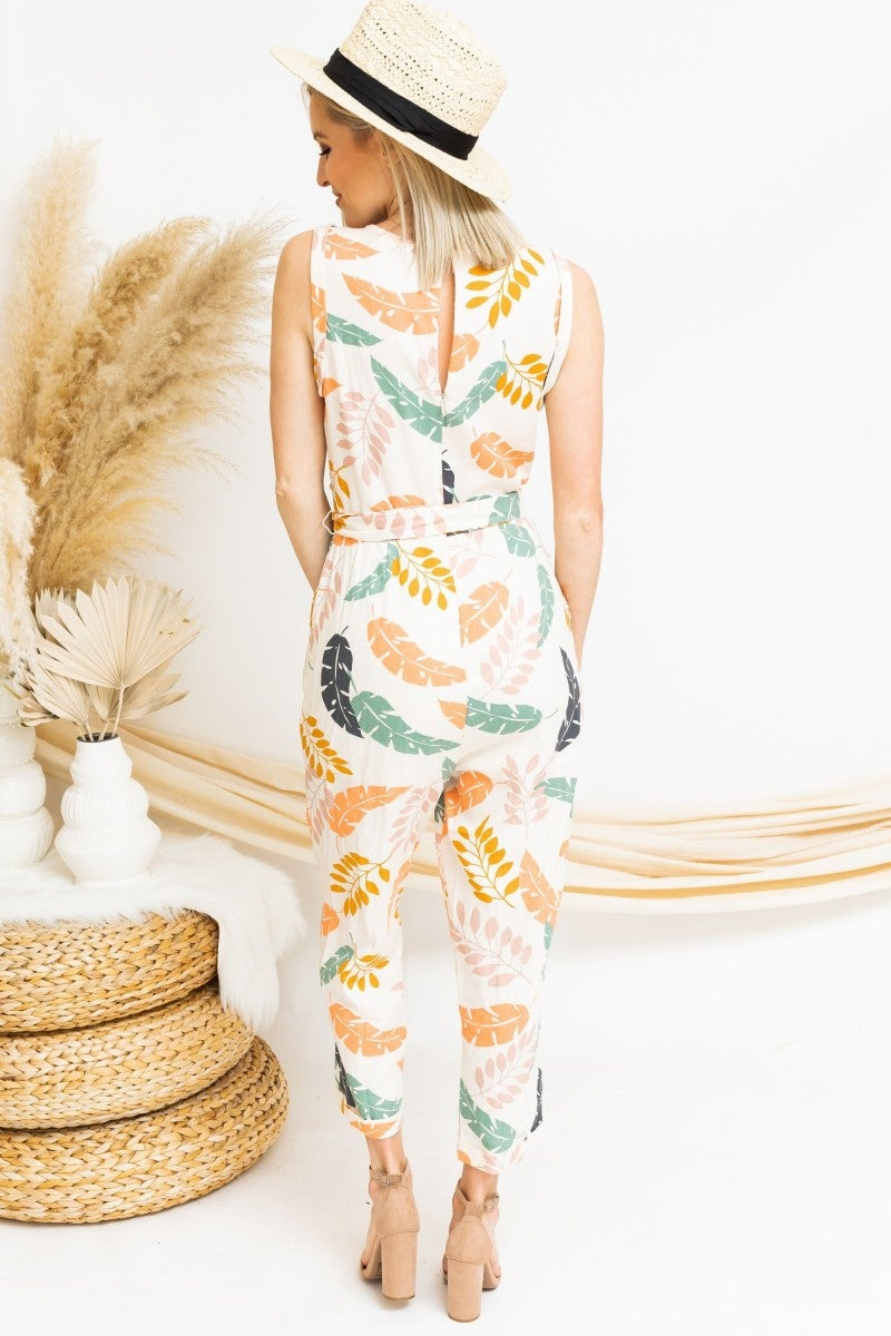 Spring Into the Season Jumpsuit