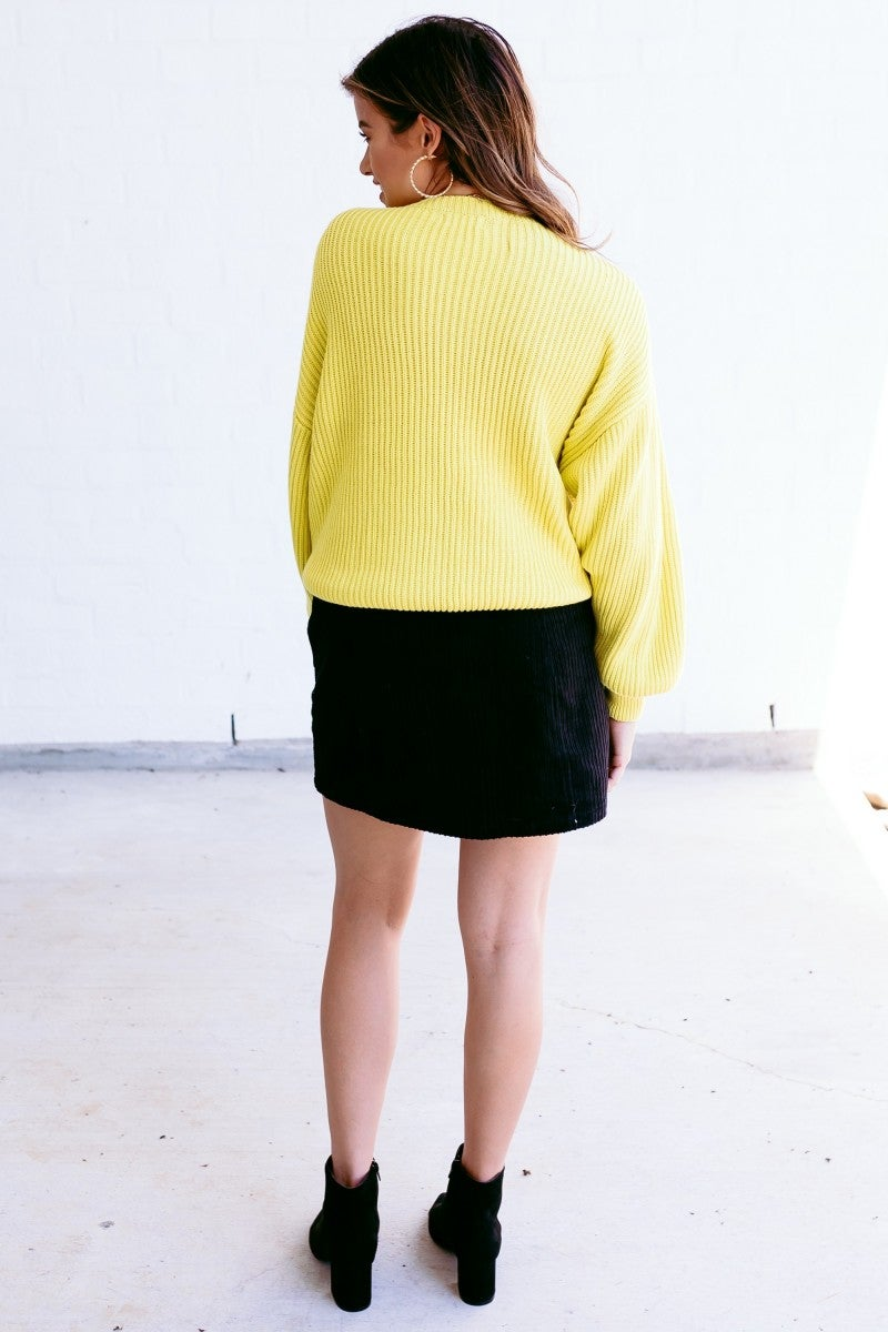 Tread Brightly Sweater