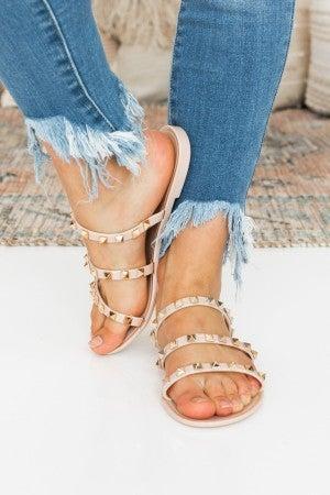 Slide into Fame Sandal