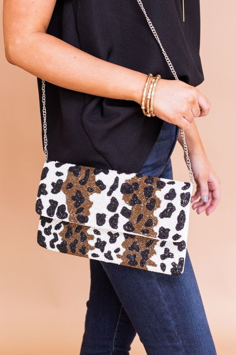 Beaded in Style Clutch