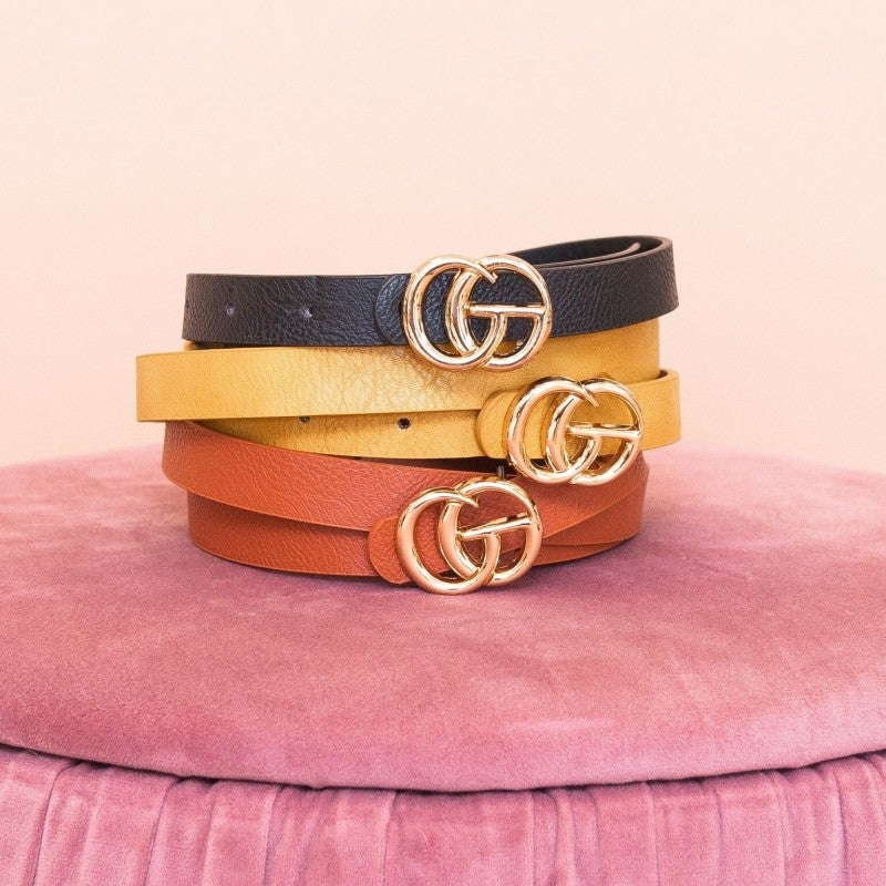 Golden Hour Belt Trio
