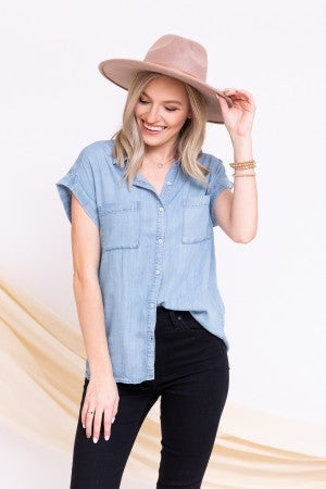 Dream Denim Top