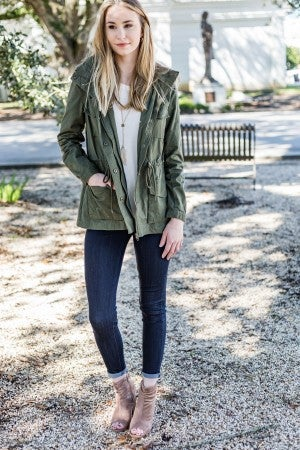 Olive The Way Up Jacket