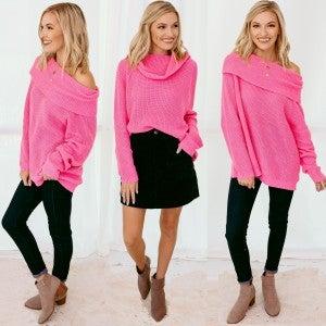 Bold Type Sweater