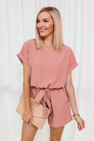 Blushing Through Romper