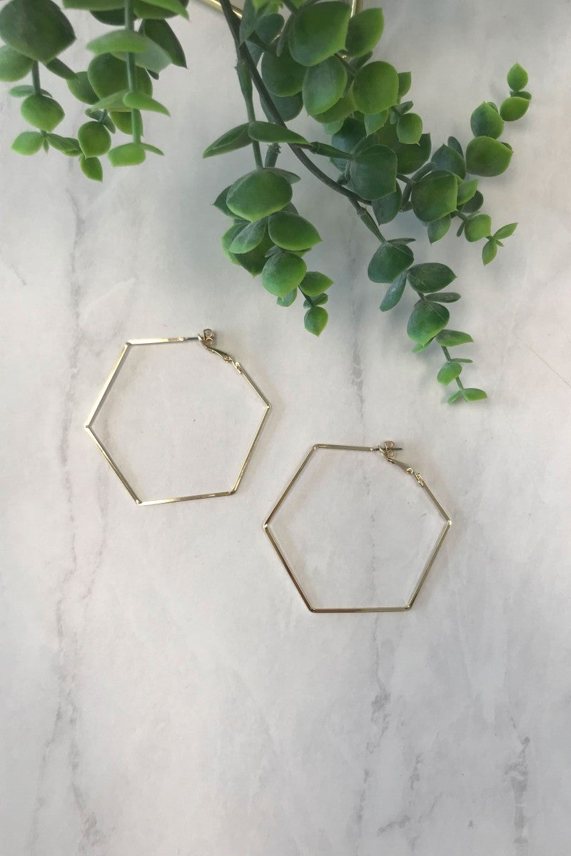 Spell on Me Hexagon Hoops