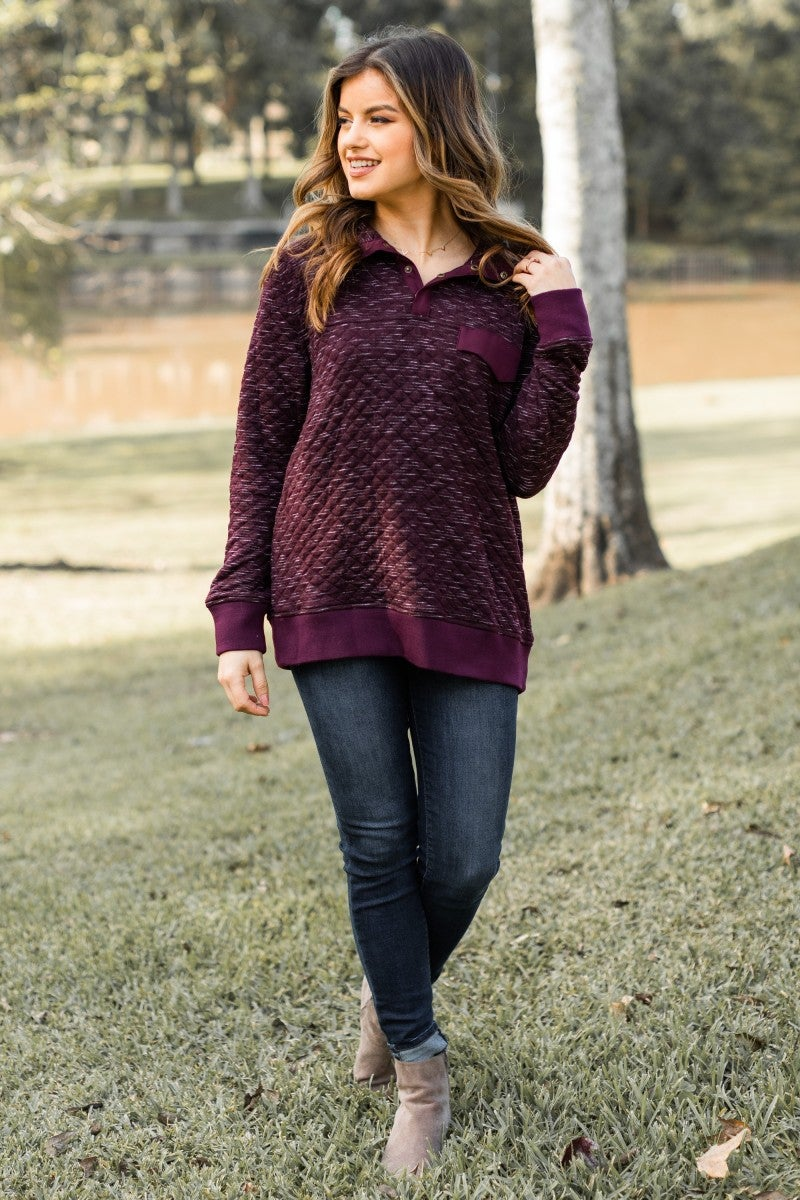 Staying Warm Pullover