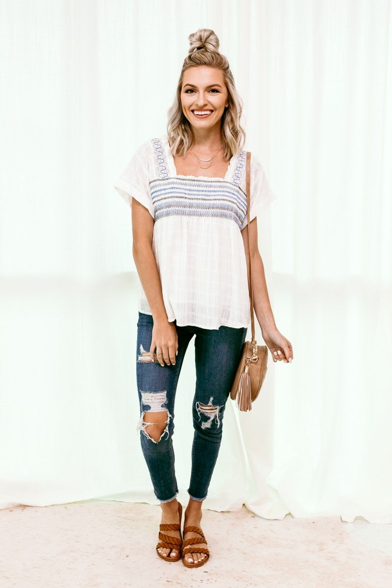 Sweetly Summertime Top