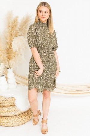 Feeling Smocked Dress