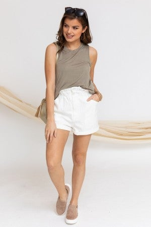 High and Mighty Paperbag Shorts