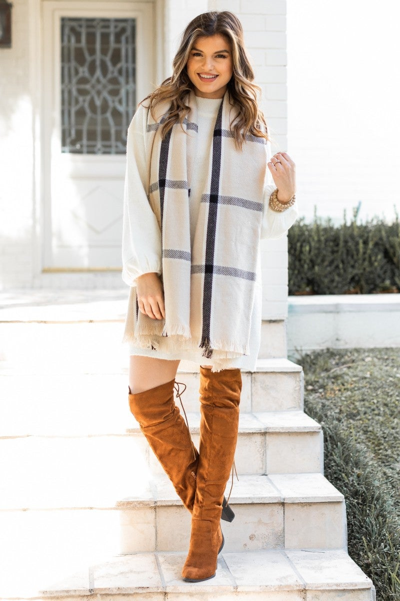 Late Check Out Scarf