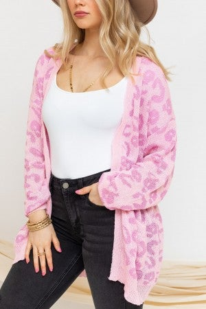 Wild About Pink Cardigan