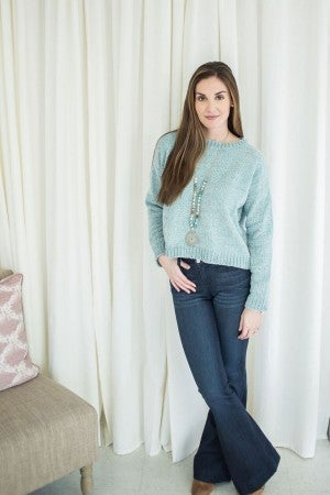 Crushing on You Chenille Sweater