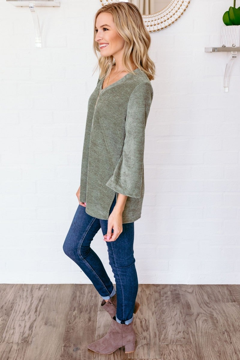 Softly Spoken Sweater