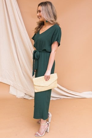 Green With Emerald Jumpsuit