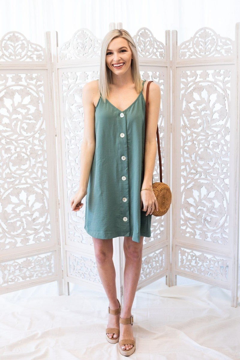 Lucky In Green Dress
