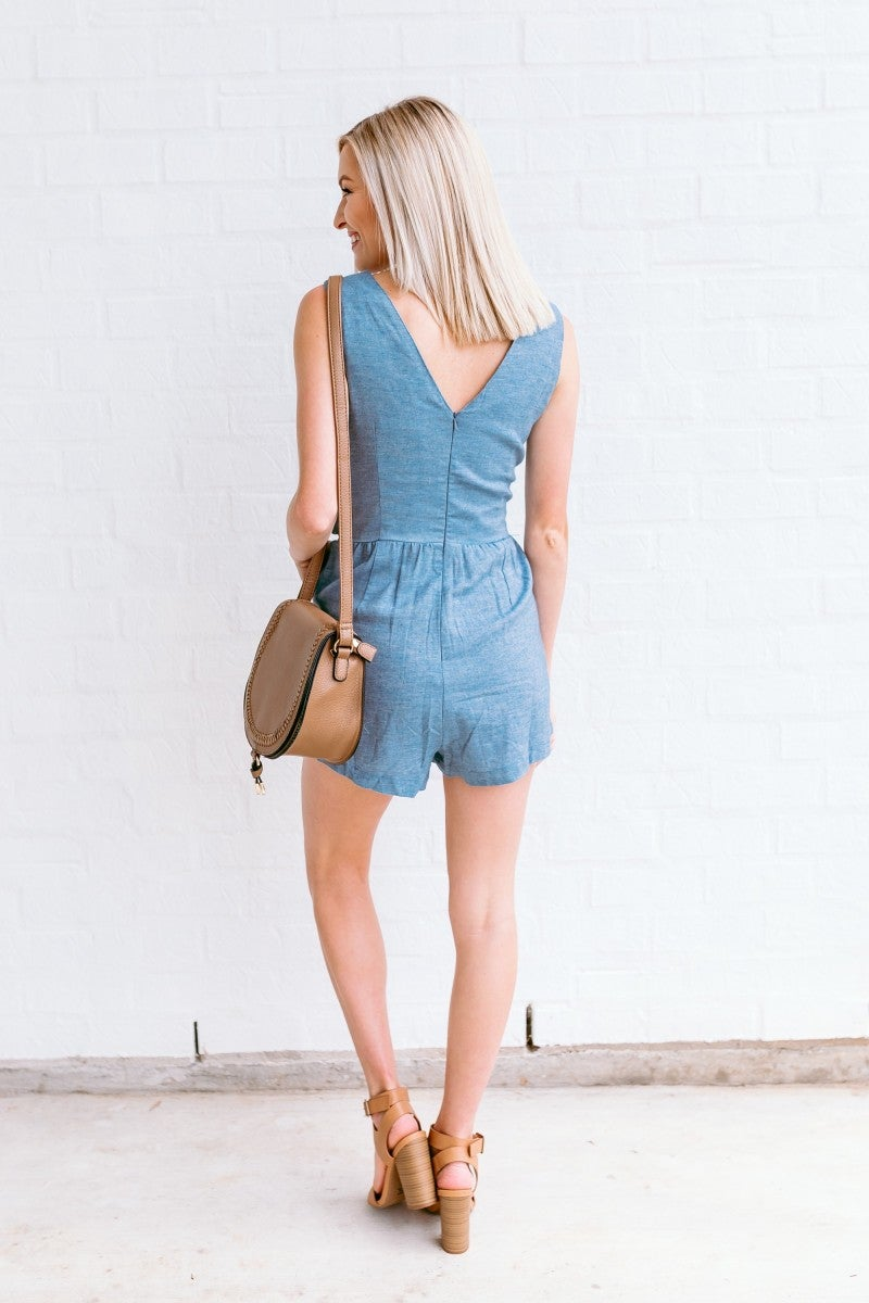 Call it a Draw Romper