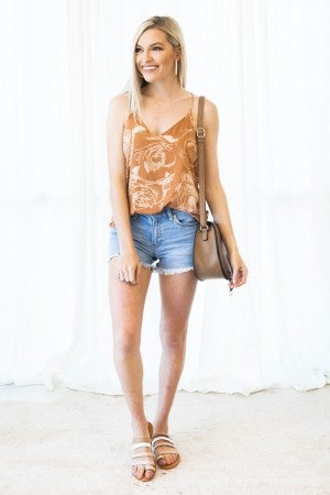 Into Florals Tank