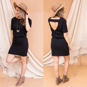 Flaunt it Black Dress