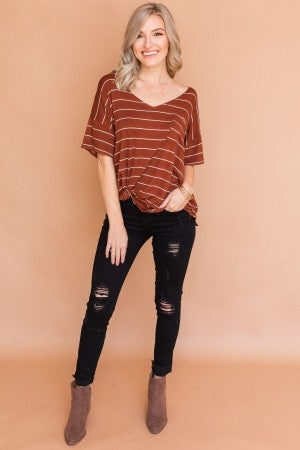 Fall Stripes Tee