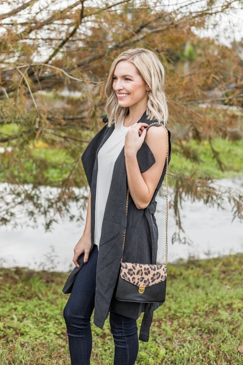 Leap into Leopard Bag