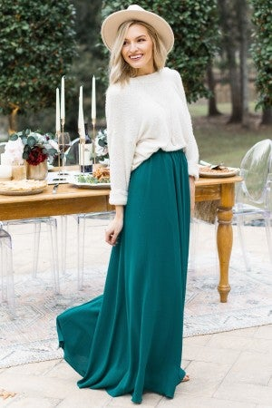 Emerald Dreams Skirt