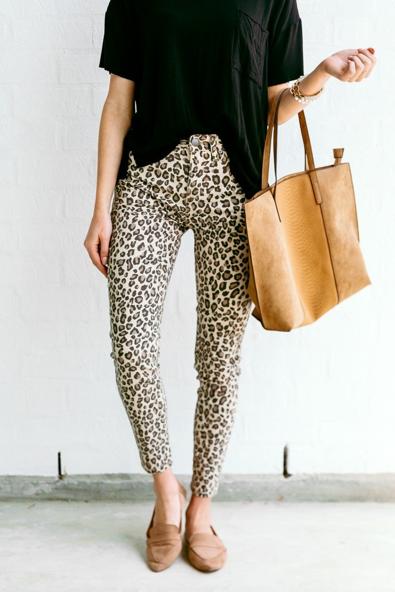 In Your View Leopard Pants