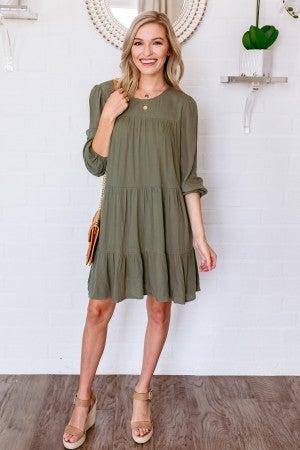 Olive Away Dress