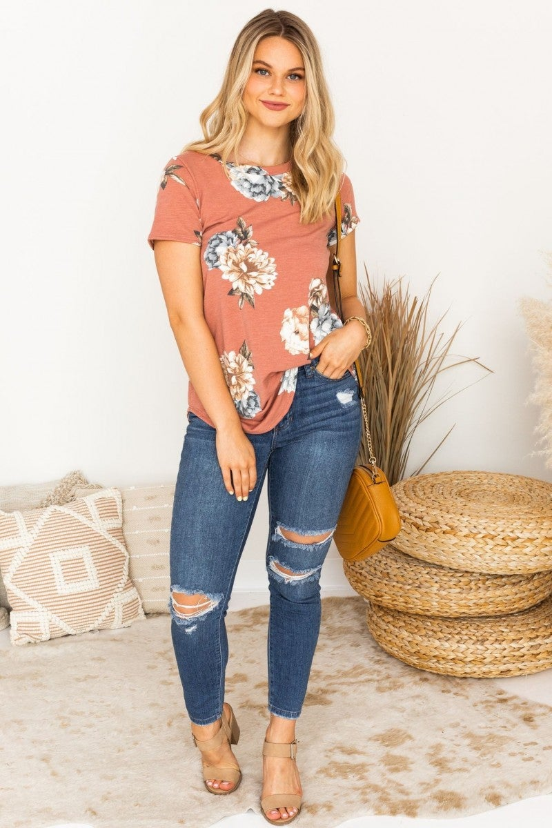 So Into Florals Top