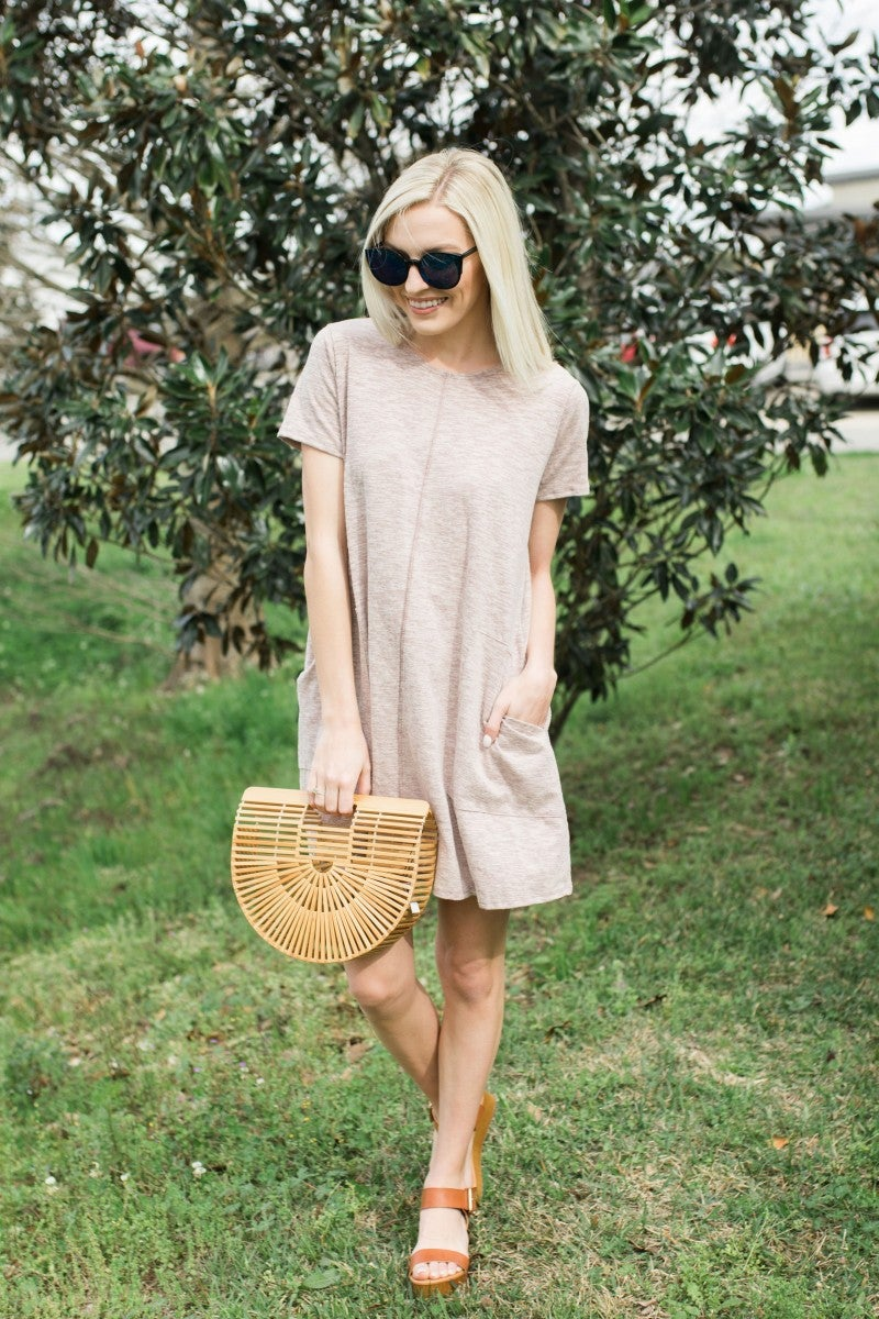 Easy Going Tee Dress