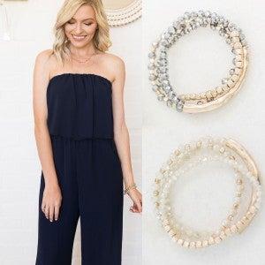 Shimmer & Stacks Bracelets