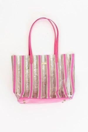 Stripe Here, Stripe Now Bag