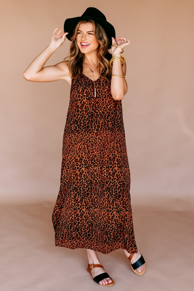 Slip into the Wild Dress