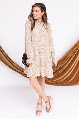 Pretty in Pleats Dress *Final Sale*