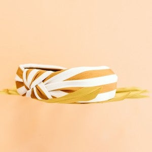 Striped to the Top Headband