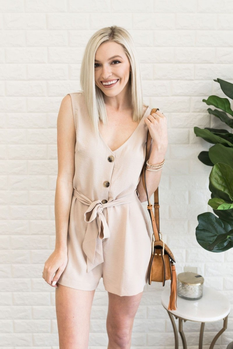 Won't Be Tied Down Romper