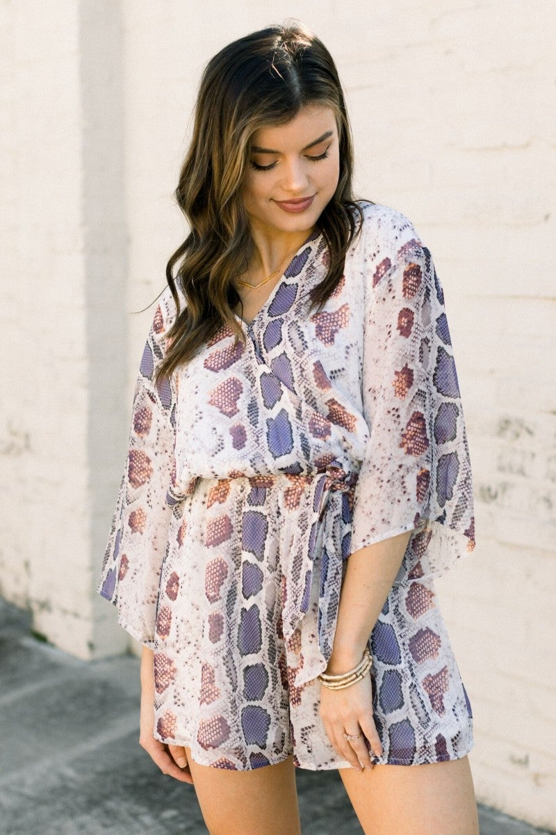 Remember the Print Romper