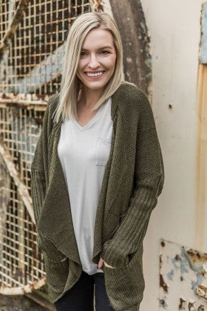 Comfort Comes First Cardi