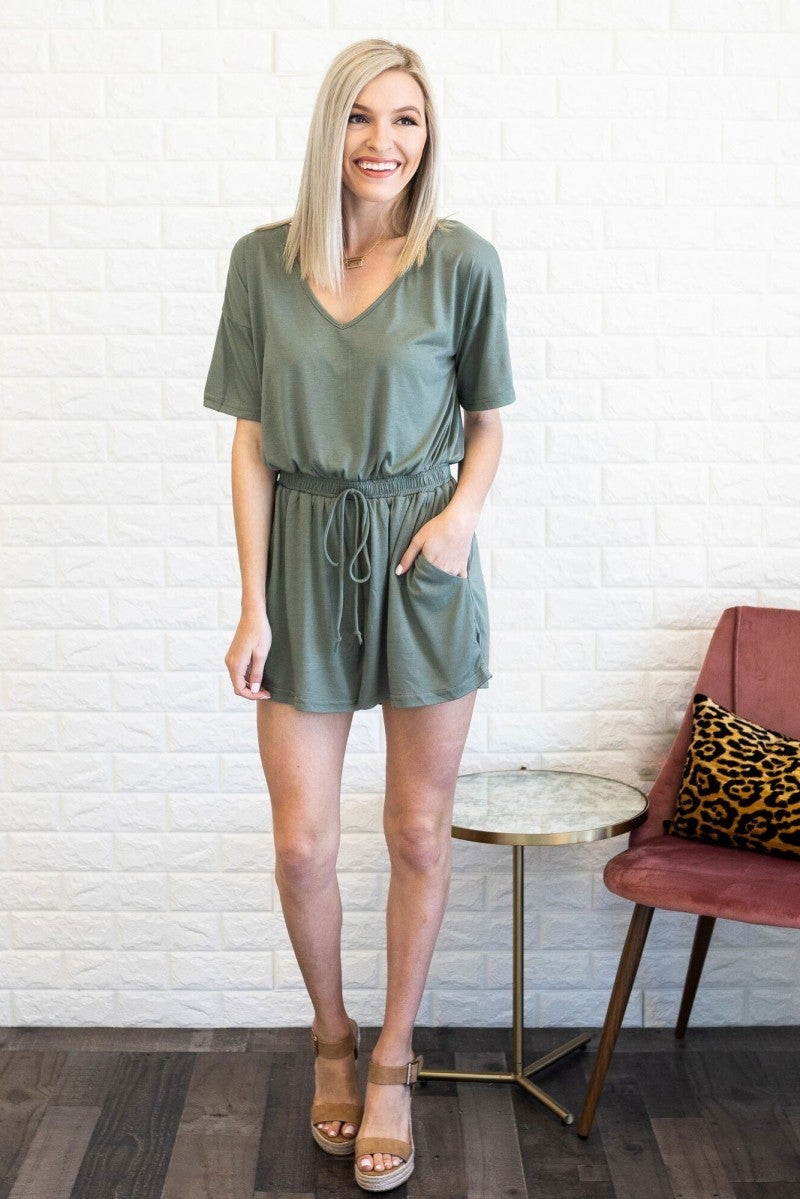 Drawn To The Weekend Romper