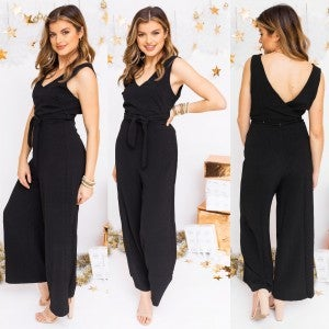 On the Right Track Jumpsuit