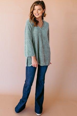 Softly Spoken Sweater