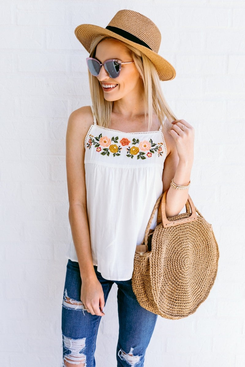 Embroidered Dreams Top
