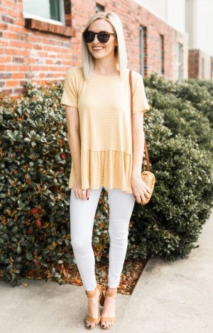 A Bit Bold Striped Tee