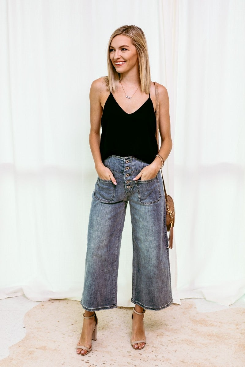 Crop it Like it's Hot Denim
