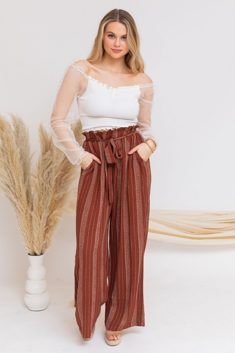 Away For Vacay Pants