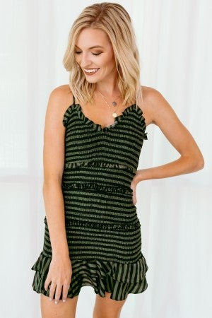 Mine Forever Striped Dress
